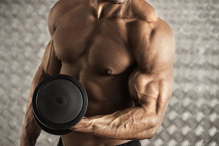 Пять упражнений для огромных бицепсов